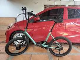 Sepeda Minion / Minitrek full restorasi upgrade parts baru semua