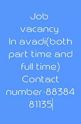 Full time and part time job intrested DM me