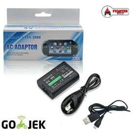 Adaptor Charger PS VITA Slim (2000) Ready GOJEK adapter