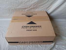 jual laci kasir/ cash drawer buka otomatis isi 4 slot uang