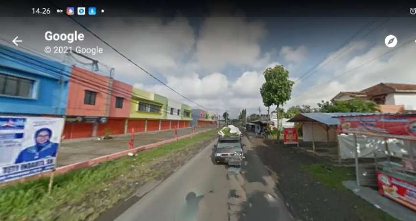 Disewakan Tanah 2400m L 17m Malangjiwan colomadu dekat Bandara solo