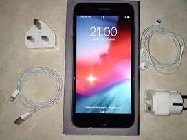 Iphone 8 plus grey 64gb FU fullset