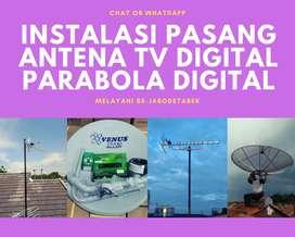 Workshop Instalasi Pasang Baru Antena Tv Analog Antenna Biasa