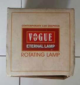 Lampu hias coca cola indah rotating lamp