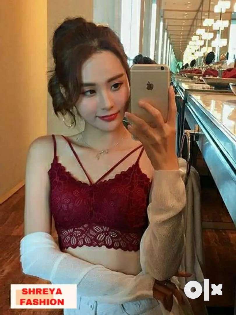 Trendy Lace Bralette for Women