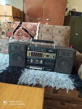 Tape cum fm radio
