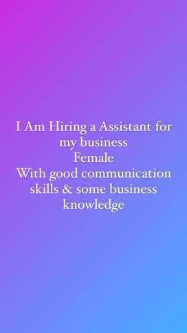 I am hiring a telecaller assistant for my business