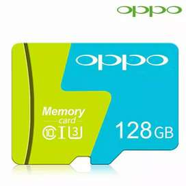 Memory card OPPO 128GB class 10 produk 100% brand new & real capacity