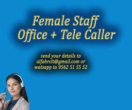 female office staff