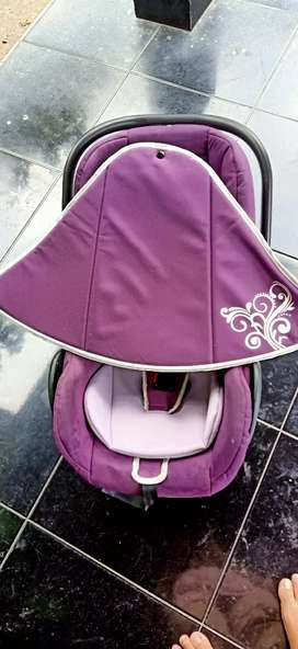 Car seat plus baby bather