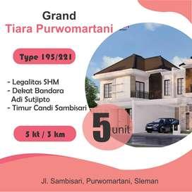 Rumah Sleman Dekat Candi Prambanan SHM P & IMB