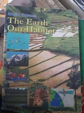 Ncert geography book set std 6 8 9 10 th