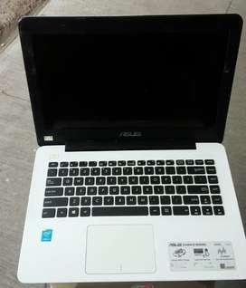 Asus X455L Core i3-4001u Ram 2gb HDD 500gb mulus no minus