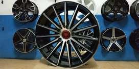 velg am560 ring 17x7.5/8.5 pcd 5x114 untuk ertiga civicfd accord camry