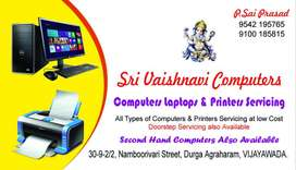 Computers and printers sales &service