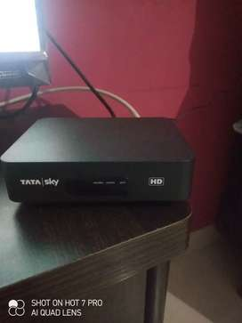Tata sky hd dth 2 days old only