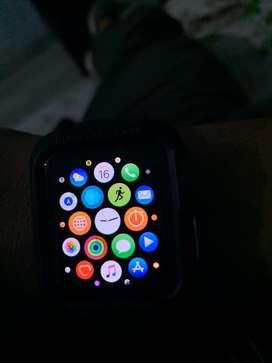 Apple watch seris 3 42 mm on sale -4 month old