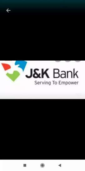 Direct walk in for j&k bank