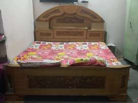 Double bed urgent sale