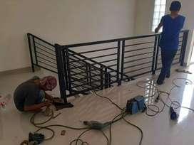 Pagar reling balkon murah