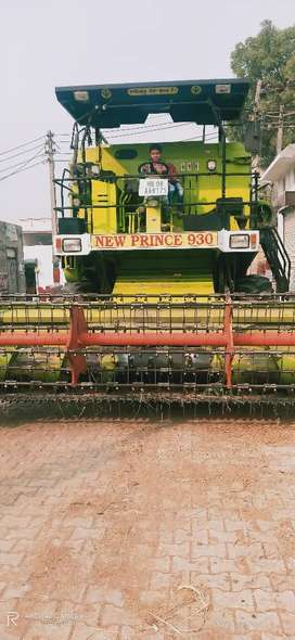 NEW PRINCE 930 HARWASTER(कंबाइन),Best Working,with one Year Insurance