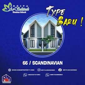 TYPE 66 SCANDINAVIAN PERUM SYARIAH GRIYA AS-SAKINAH