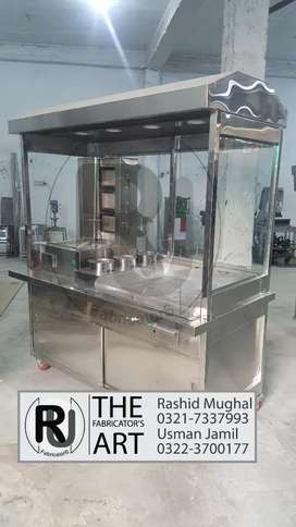 Fast food coutnter, shwarma counter