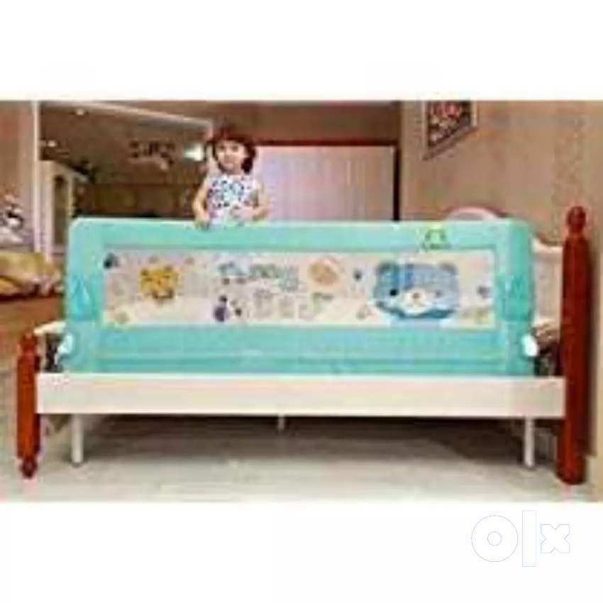 Kids Bed Rail foldable safety guard 0