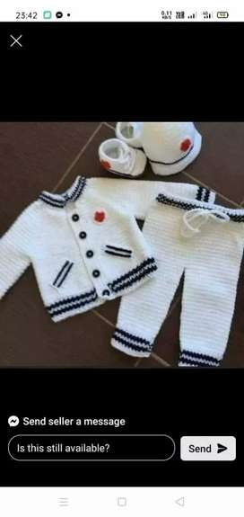 Handmade sweaters for more varitey msg me
