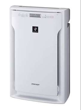 Sharp Air Purifier Fu-A80E-Wwith Hepa Filter & Active Plasma Cluster F