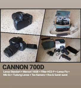 Djual canon 700D