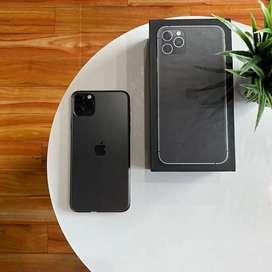 IPhone 11 Pro Max 64Gb Space Grey Elegant Fullset Muluss Istimewa