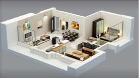 2 BHK FLAT ON RENT IN BHARTI VIDHYAPEETH BACK CAMPUS-KATRAJ DAIRY
