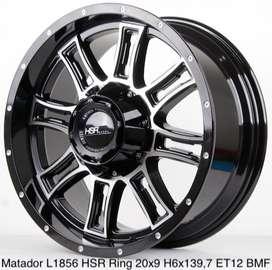 VELG MOBIL MATADOR L1856 HSR R20X9 H6X139,7 ET12 BMF
