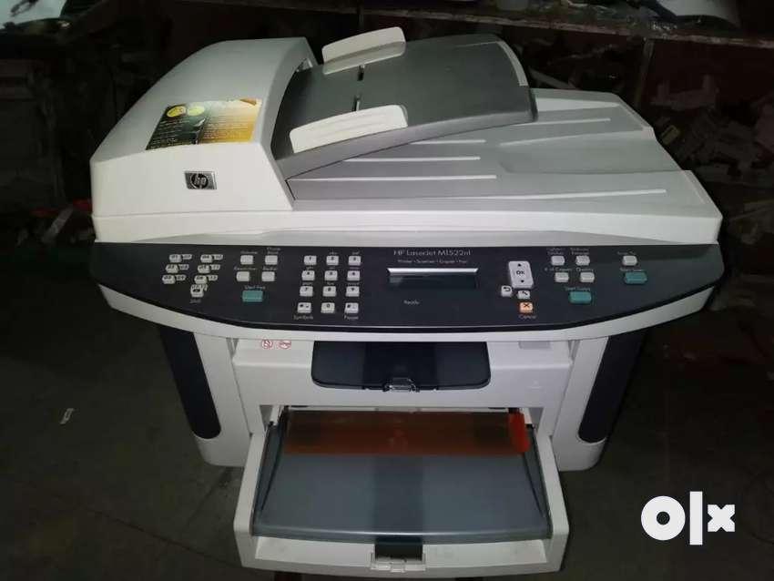 HP LaserJet m1522nf mfp printer 0