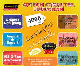 4000 Rupees In All Short Courses Available