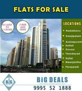 Branded 2 & 3 Bed Room Flat For Sale at Calicut.