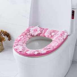 Alas Tempat Duduk WC Toilet Cover Pelapis Dudukan Closet