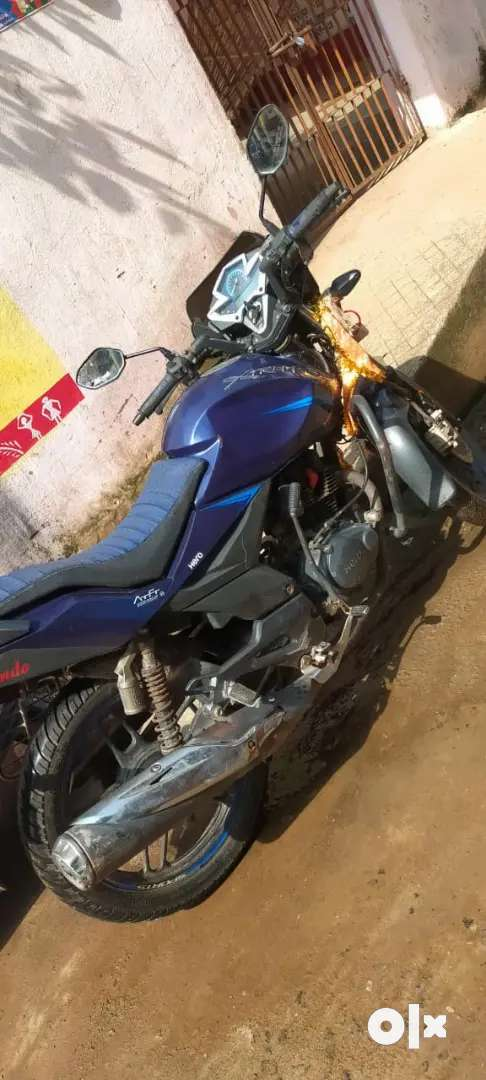 Nice motorcycle, less use . Brother serving in ARMY so need to sell.