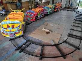 AGM kudaa genjott kereta mini coaster odong odong rel bawah oval