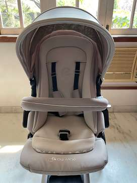 Jane India Rider Stroller (Off White)