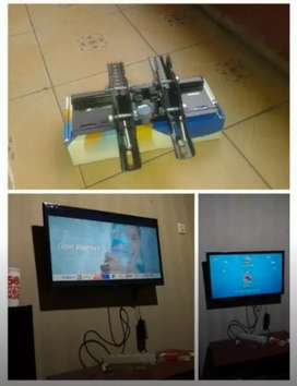 jual dan plus pasang bracket TV LCD LED