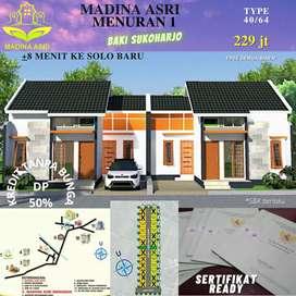 Rumah rumah baru dekat Solobaru