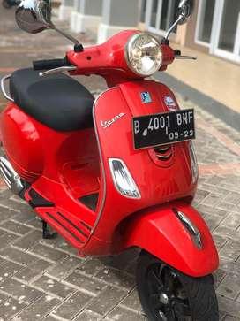 Vespa lx iget 2017 red rosso