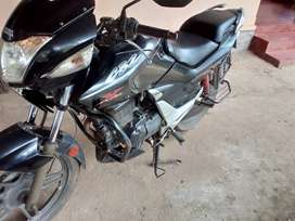 Hero Honda CBZ XTREME, 2011-2012, pepers are clear,good tyres,no main