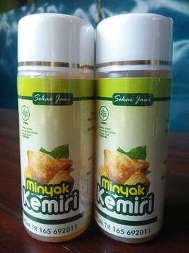 Minyak Kemiri Minyak Penyubur Rambut 60 ml Sekar Jawi