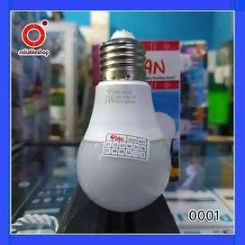 Pian Classic Lampu LED A 3 Watt Garansi 1 Tahun - 0001