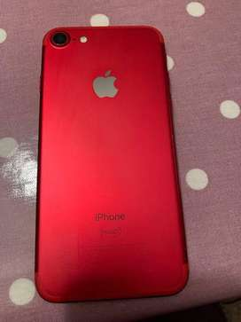 Iphone 7 red product 128gb