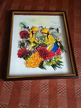 Mexico canvas clay frame for sale..