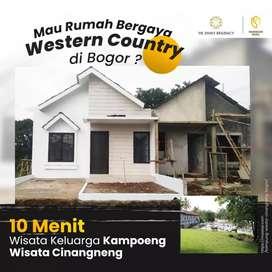 Rumah minimalis konsep Western di Bogor